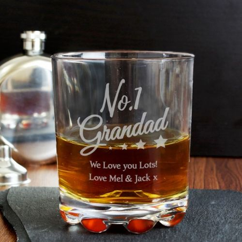 Personalised No.1 Grandad Tumbler